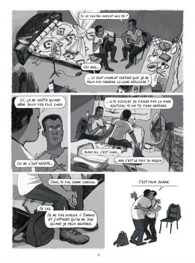 Page 9 Seidou, en quête d'asile
