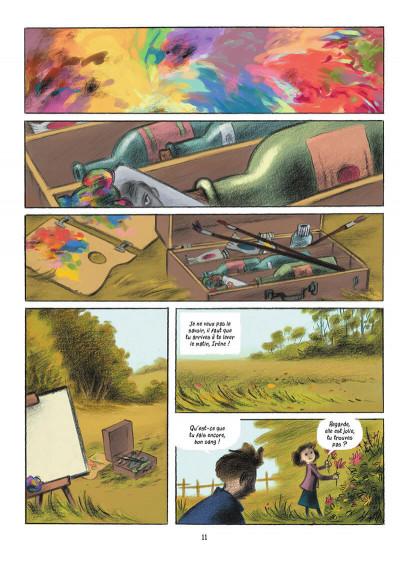 Page 5 L'écolier en bleu