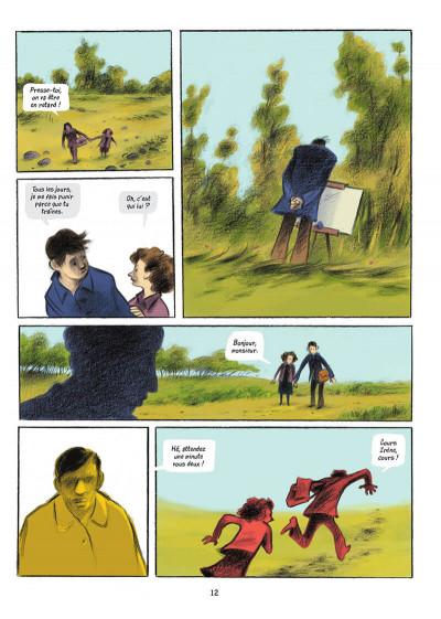 Page 6 L'écolier en bleu