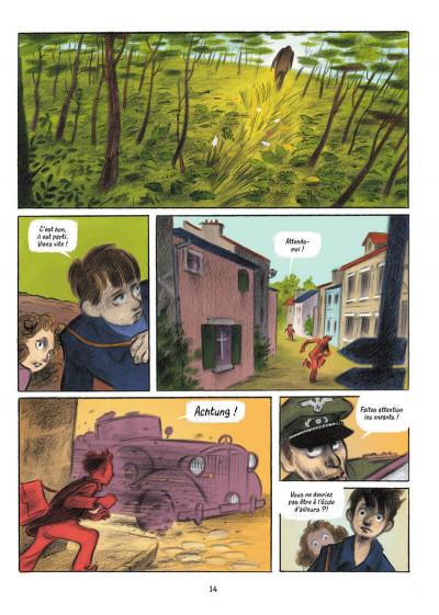 Page 8 L'écolier en bleu