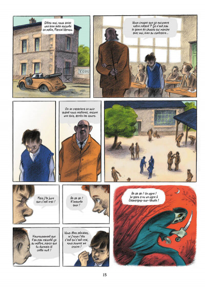 Page 9 L'écolier en bleu