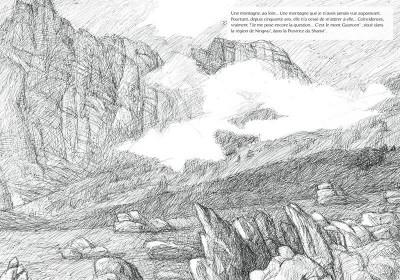 Page 6 Au loin une montagne