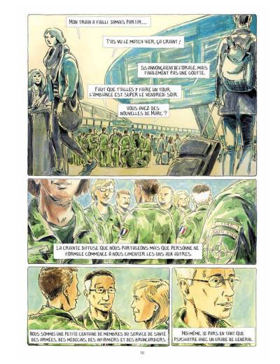 Page 0 Au bord du monde (Dix semaines à Kaboul)