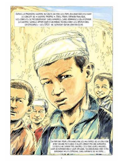 Page 5 Au bord du monde (Dix semaines à Kaboul)