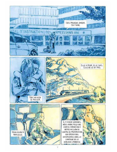 Page 7 Au bord du monde (Dix semaines à Kaboul)