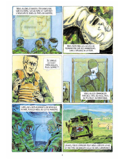 Page 8 Au bord du monde (Dix semaines à Kaboul)