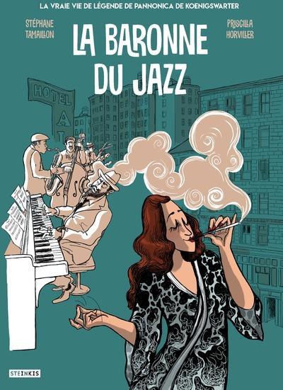 Couverture La baronne du jazz