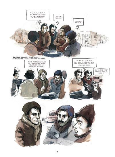 Page 8 Corps en grève