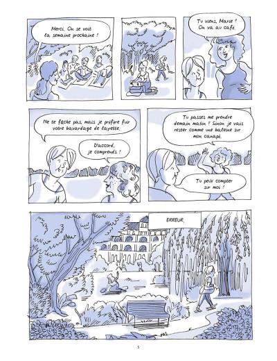 Page 5 On se reposera plus tard