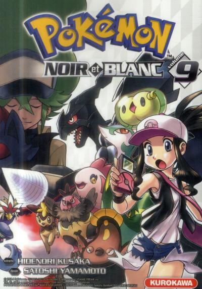 Pok mon noir et blanc tome 9 - Pokemon noir et blanc personnage ...