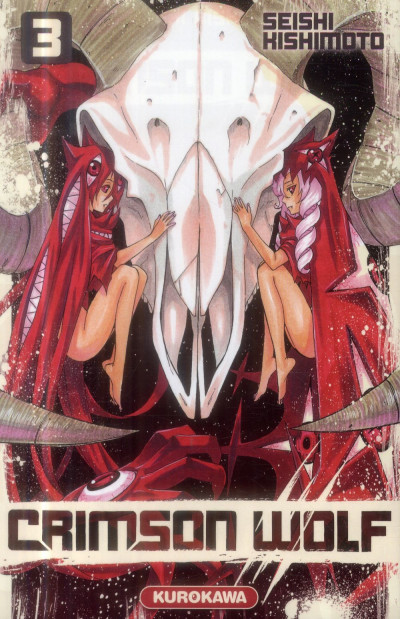 Couverture Crimson wolf tome 3