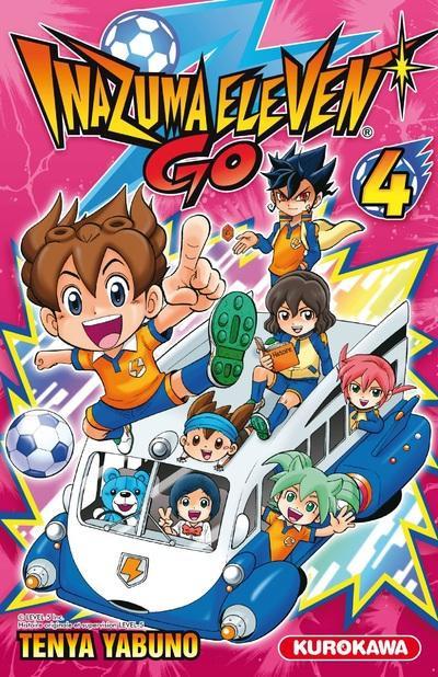 Couverture Inazuma Eleven Go ! tome 4