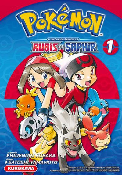 Couverture Pokémon Rubis et Saphir tome 1