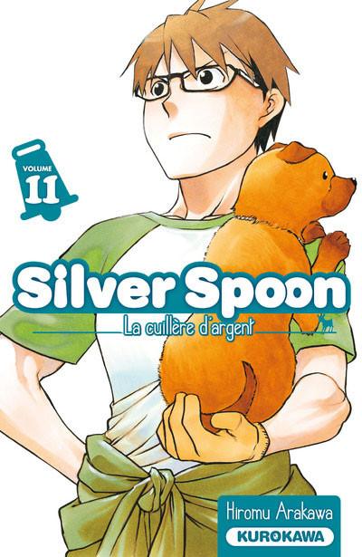Couverture Silver Spoon - La cuillère d'argent tome 11