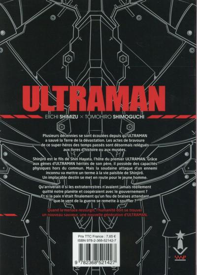 Dos Ultraman tome 1