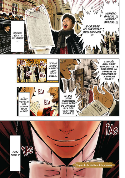 Page 2 Arsène Lupin tome 1