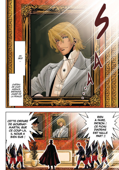 Page 5 Arsène Lupin tome 1