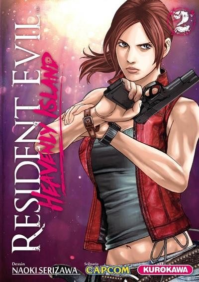 Couverture Resident Evil - Heavenly Island tome 2