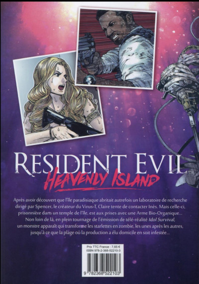 Dos Resident Evil - Heavenly Island tome 2