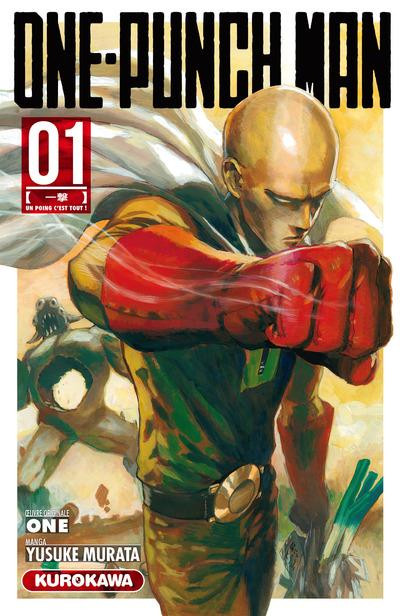 Couverture One-Punch Man tome 1