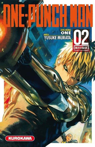 Couverture One-Punch Man tome 2
