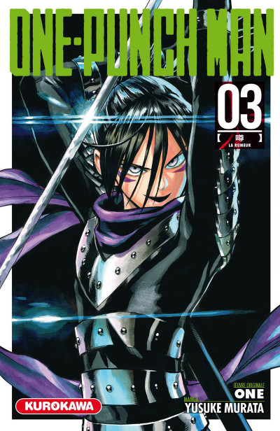 Couverture One-Punch Man tome 3