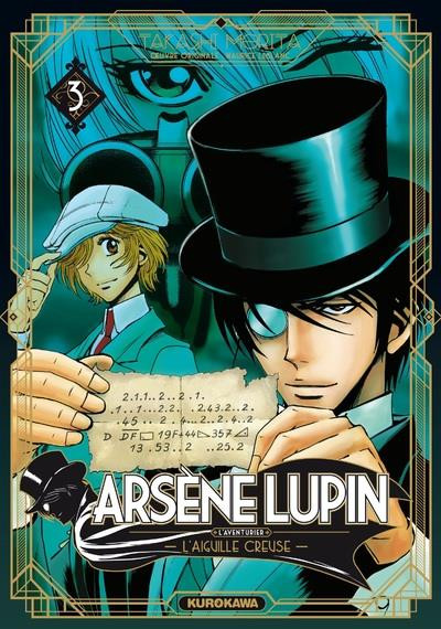 Couverture Arsène Lupin tome 3