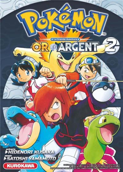 Couverture Pokémon or et argent tome 2