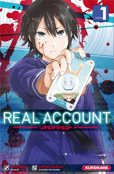 Couverture Real account tome 1