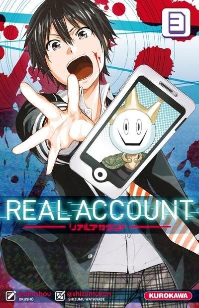 Couverture Real account tome 3