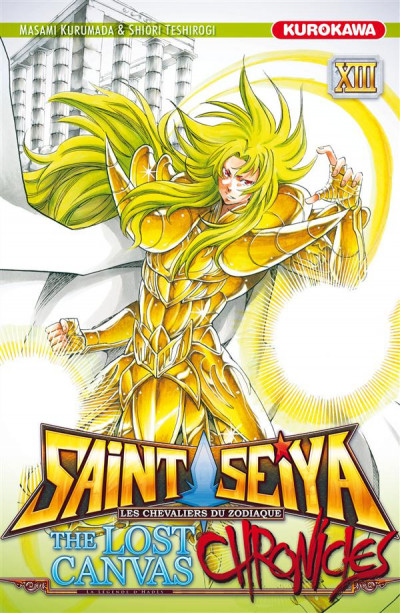 Couverture Saint Seiya - The lost canvas - chronicle tome 13