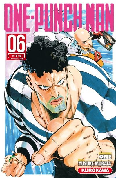 Couverture One-Punch man tome 6