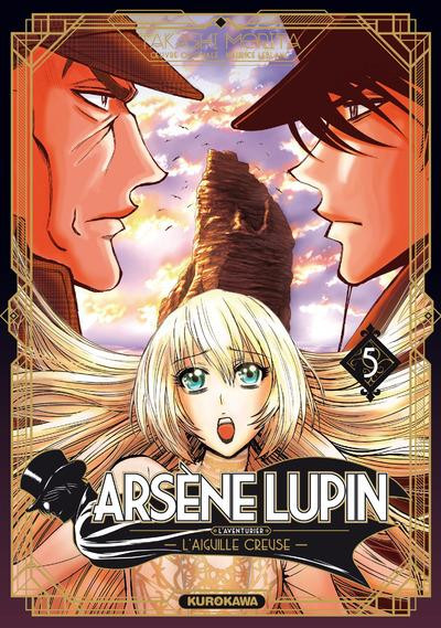 Couverture Arsène Lupin tome 5