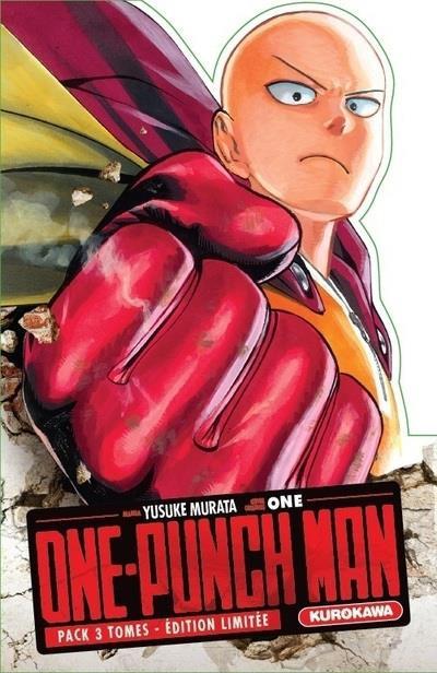 Couverture One-Punch Man - coffret tomes 1 à 3