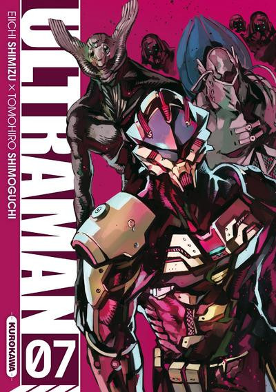 Couverture Ultraman tome 7