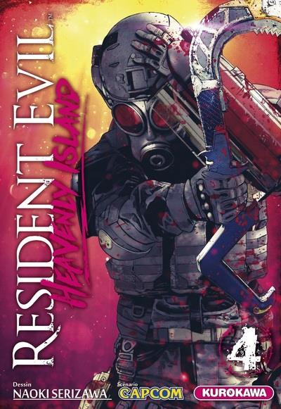 Couverture Resident evil - Heavenly island tome 4