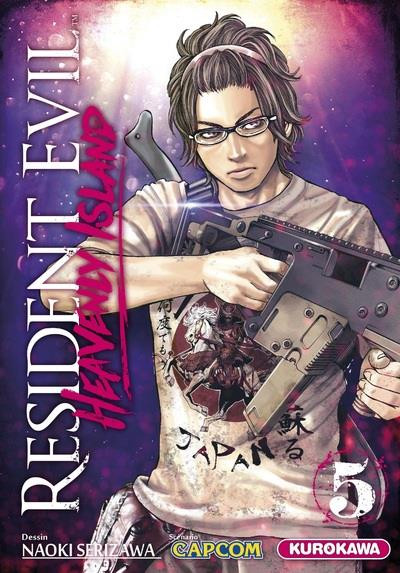 Couverture Resident evil - heavenly island tome 5