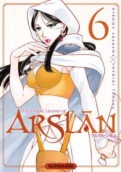 Couverture The heroic legend of Arslân tome 6