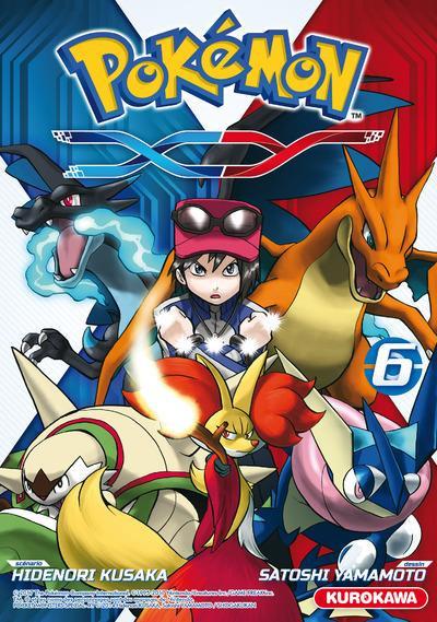 Couverture Pokémon XY tome 6