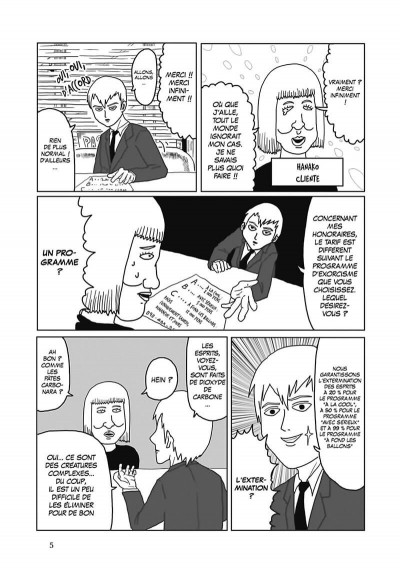Page 6 Mob psycho 100 tome 1