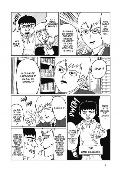 Page 7 Mob psycho 100 tome 1