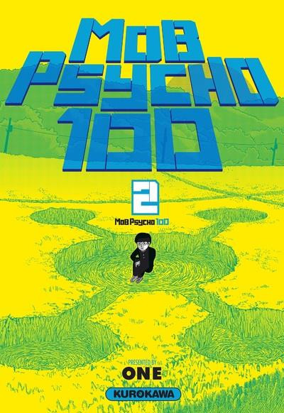 Couverture Mob psycho 100 tome 2