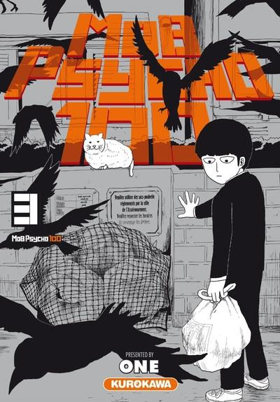 Couverture Mob psycho 100 tome 3
