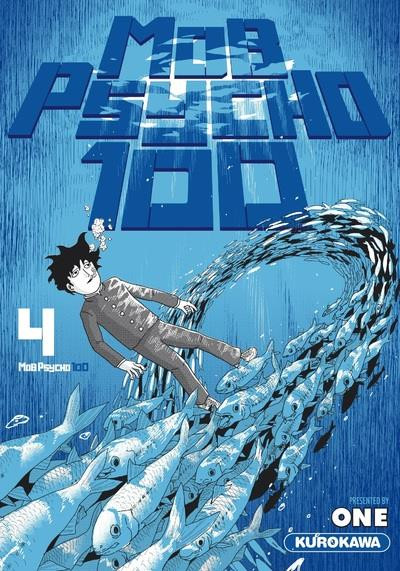 Couverture Mob psycho 100 tome 4