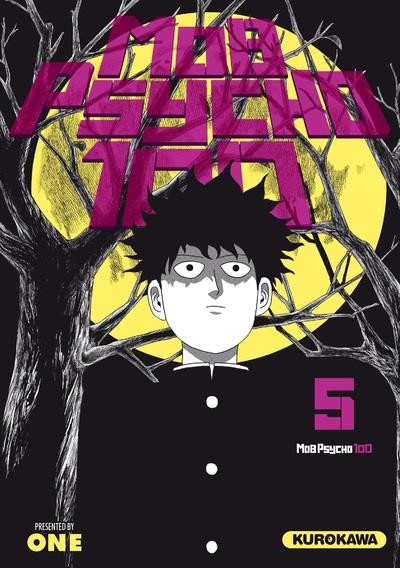 Couverture Mob psycho 100 tome 5