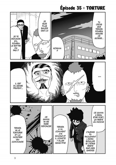 Page 4 Mob psycho 100 tome 5