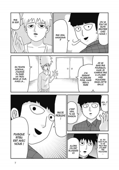 Page 8 Mob psycho 100 tome 6