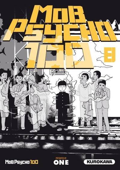 Couverture Mob psycho 100 tome 8