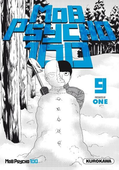 Couverture Mob psycho 100 tome 9