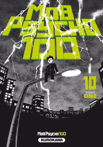 Couverture Mob psycho 100 tome 10